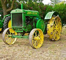 Antique John Deere Farm Tractor I by DaveKoontz