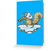 Frozen Age Greeting Card