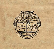 Constantia et Labore -  House of Plantin Printer's Mark by SexyCodicology