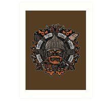 GNG Crest Art Print