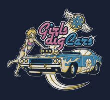 Girls Dig Cars by Letter-Q