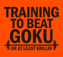 Training to beat goku - Krillin 3 by Lamamelle2nd
