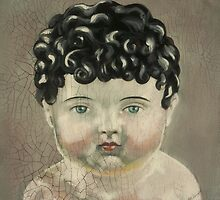 I'm Fine #3 (Antique German Boy Doll) by Blue Reid