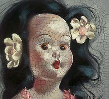 I'm Fine #9, (Hawaiian Doll) by Blue Reid