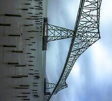The Astoria–Megler Bridge, Astoria, Oregon Perspective #2 by mspixvancouver