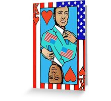 King Kevin of Cards Greeting Card