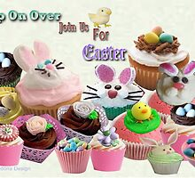 Easter Cup Cakes: Invitation ( 647 Views) by aldona