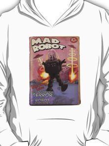 Mad Robot Fake Pulp Cover T-Shirt