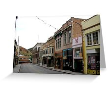 Old Bisbee Greeting Card