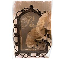 Rosy Romantic Reflection Poster