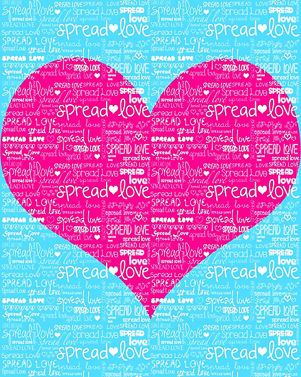 SPREAD LOVE  by nicwise