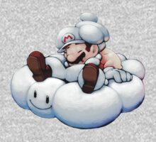 Cloud Mario & Kirby by Lif3s