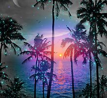 Dream of Paradise (Palm Tree Paradise) by soaringanchor
