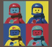 Retro Lego Spaceman by MrJirue