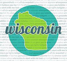 Words of Wisconsin by katherinepaulin