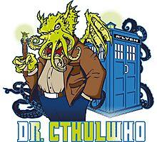 Dr. Cthulwho Photographic Print