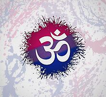 Bisexual Pride Pranava by LiveLoudGraphic