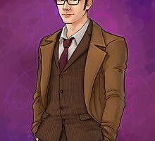 The 10th Doctor by elliem-