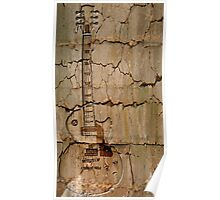 guitar cracks Poster