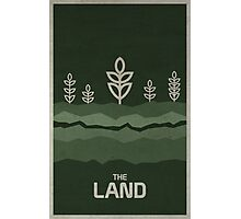 The Land Photographic Print