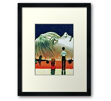 Neon Genesis Evangelion: The End of Evangelion Movie Poster  Framed Print