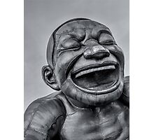A-maze-ing Laughter 14- Black and White Photographic Print