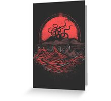 Tentacle Wars Greeting Card