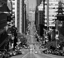 California Street by Radek Hofman