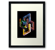 Links Framed Print