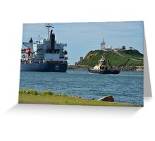 ENY - BULK CARRIER - AUSTRALIA Greeting Card