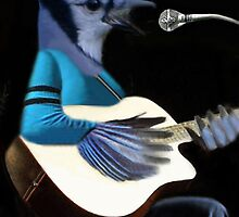*•♪♫•*¨*•MY BLUE JAY PLAYING GUITAR AND SINGING ME A SONG ALSO ANIMATED HIM *•♪♫•*¨*• by ╰⊰✿ℒᵒᶹᵉ Bonita✿⊱╮ Lalonde✿⊱╮