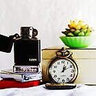 Watch, Lighters & Candle by Evita