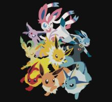 Eeveelutions Kids Clothes