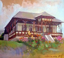 Moldavian House by painterflipper