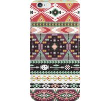 Pattern in native american style iPhone Case/Skin