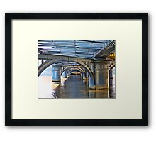 Underneath The Arches Framed Print