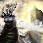 The Crystallization [Digital Fantasy Figure Illustration] by Grant Wilson