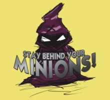 Stay behind your minions! Kids Clothes