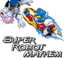 Japanese Beast Wars Optimus Prime vs Megatron by superbotmayhem