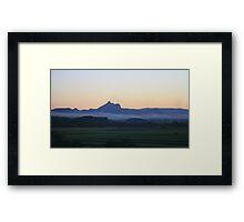 Tweed Valley Twilight Framed Print