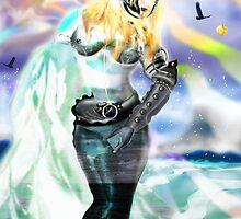Universia of Galacticus [Digital Fantasy Figure Illustration] by Grant Wilson
