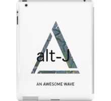 An Awesome Wave-White iPad Case/Skin