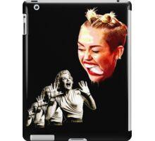 Attack of the creepy tongue iPad Case/Skin
