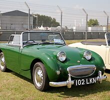 Austin Healey Sport 948cc  1960 by Keith Larby
