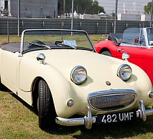 Austin Healey Coupe 1959  948cc by Keith Larby