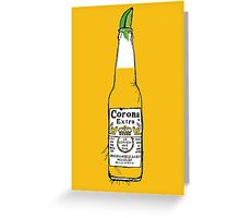 Cerveza Greeting Card