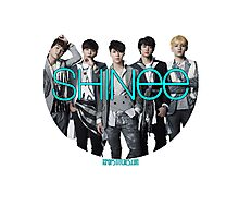 SHINee photo circle  Photographic Print