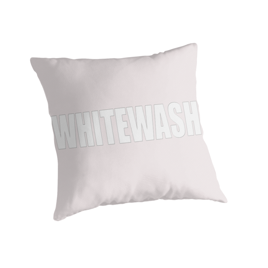 2-WHITEWASH - pillow collection by TeaseTees
