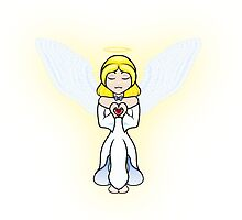 Angel heart by AnimeGamerGirl