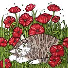 Poppy Snooze by Anita Inverarity